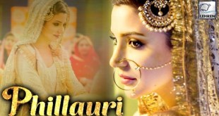 Anushka Sharma's FIRST LOOK Out – Phillauri