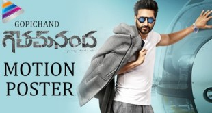 Goutham Nanda First Look Motion Poster