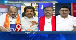 Big debate – Land Fight in AP Capital