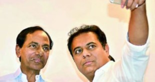 KTR's tweet on his father KCR going viral