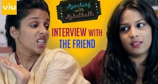 Munching With MAHATHALLI | Episode 2 | INTERVIEW WITH THE FRIEND | Jahnavi Dasetty