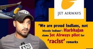 'We are proud Indians, not bloody Indians': Harbhajan slams Jet Airways pilot for 'racist' remarks