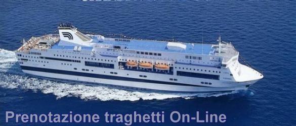 Prenotazione Traghetti OnLine Sardegna Sicilia Isole