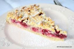 Savori Urbane: Quark-Kirsch Butterstreuselkuchen