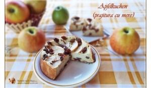 Retetele mele dragi - Prajitura cu mere (Apfelkuchen)