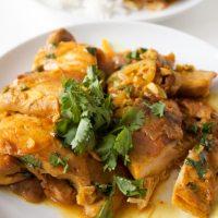 Healthy Coconut Curry Chicken