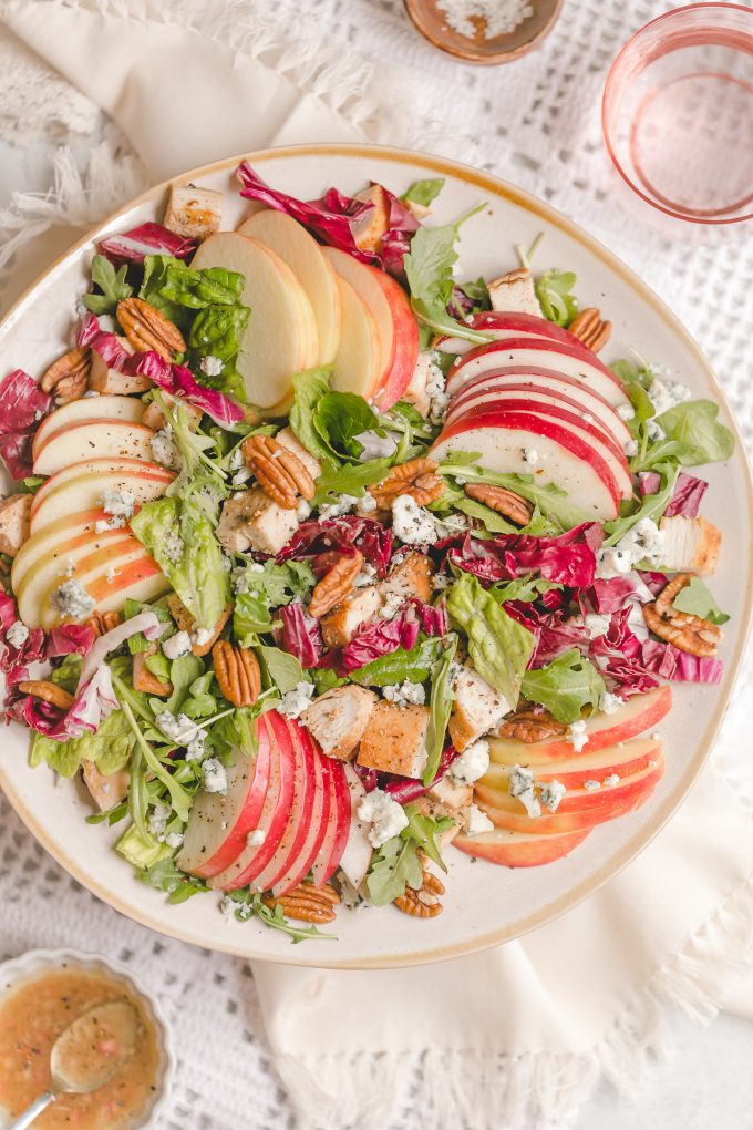 Homemade Panera Fuji Apple Salad with Chicken