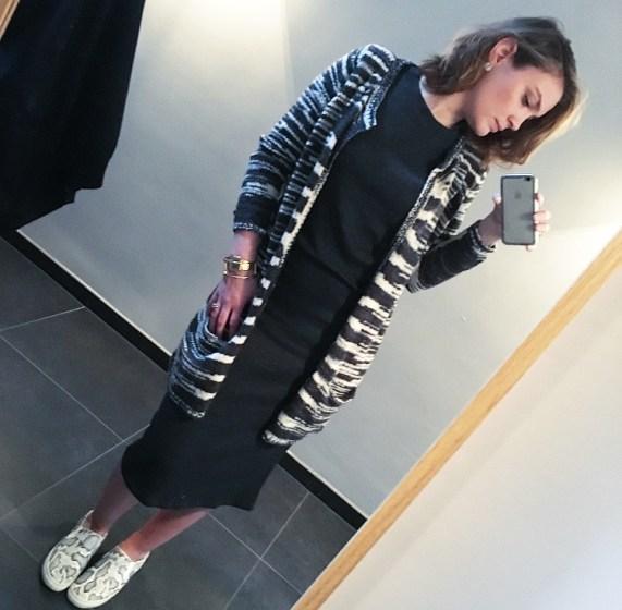 SWEATER DRESS ZARA.