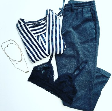 outfit flatlay