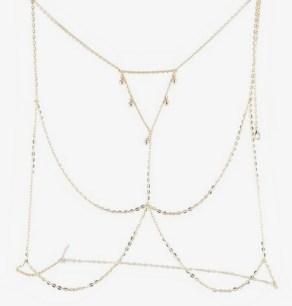 Body necklace by Miss Selfridge - Zalando