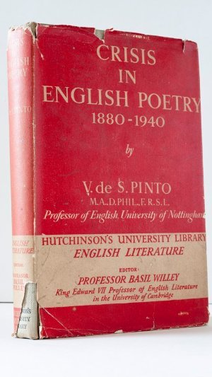Crisis in English Poetry 1880-1940