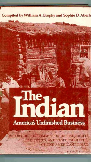 The Indian: America's Unfinished Business. Report of the Commission on the Rights, Liberties, and Responsibilities of the American Indian