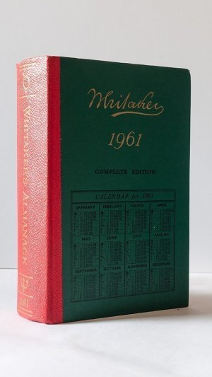 An Almanack for the Year of Our Lord 1961