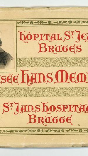 Musée Hans Memling Hôpital St. Jean Bruges St. Jans Hospitaal Brugge