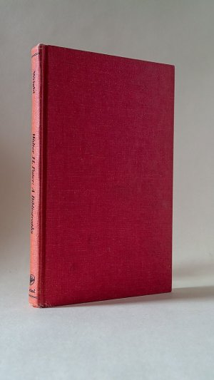 A Bibliography of the Writings of Walter H. Pater