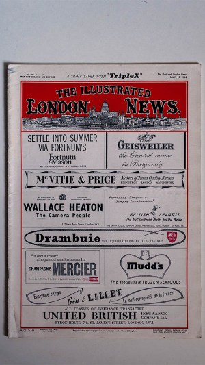 The Illustrated London News No 6363 Volume 239 July 15 1961