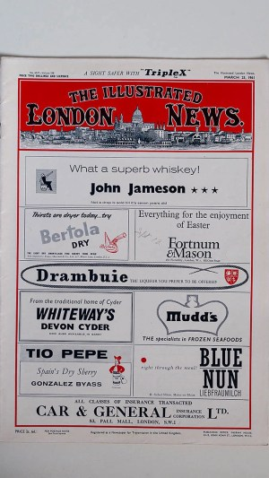 The Illustrated London News No 6347 Volume 238 March 25, 1961