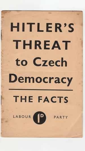 Hitler's Threat to Czech Democracy: The Facts