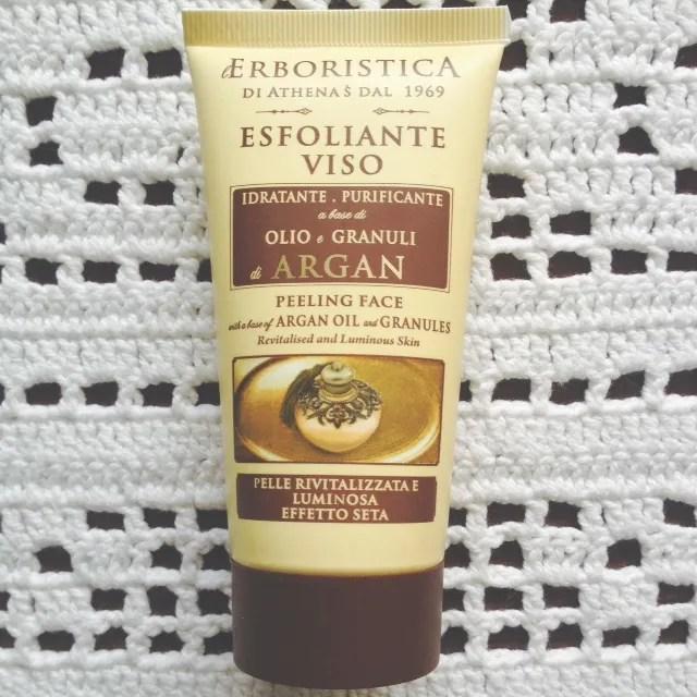 L'ERBORISTICA Esfoliante Viso all'olio di Argan