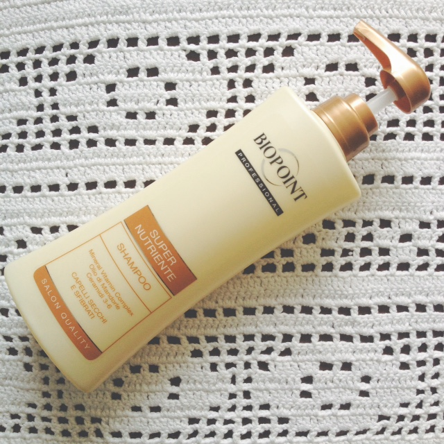 BIOPOINT Shampoo Super Nutriente