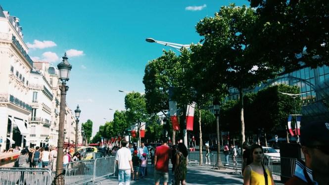 Champs Elysées Parigi