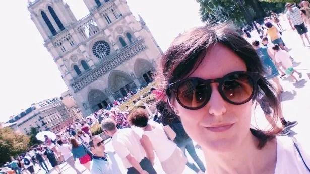 Selfie con Notre Dame