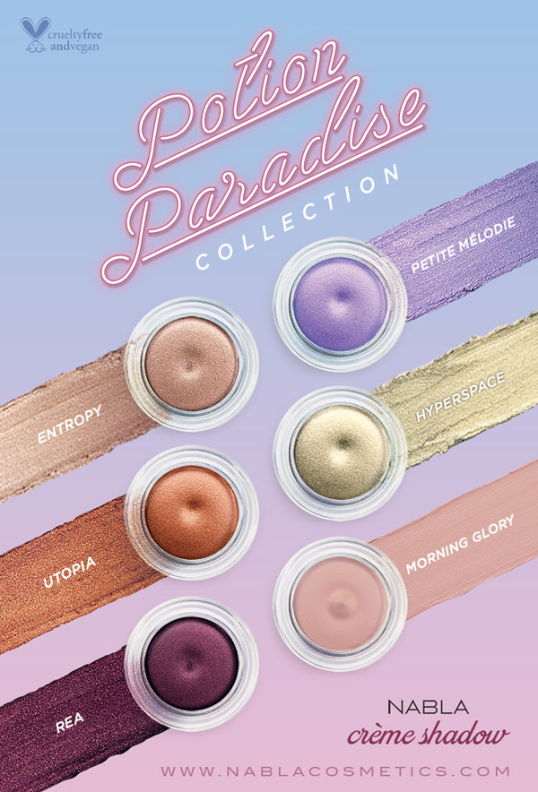 NABLA COSMETICS Potion Paradise Collection
