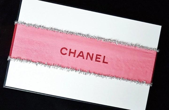 Chanel scatola