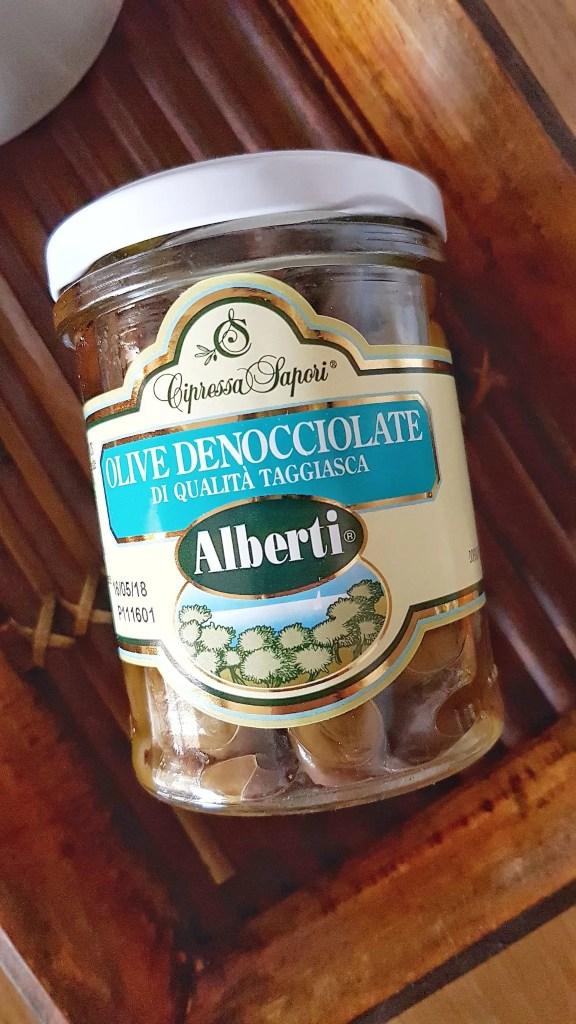 "Alberti Olive denocciolate ""Cultivar Taggiasca"" in olio extravergine di oliva"