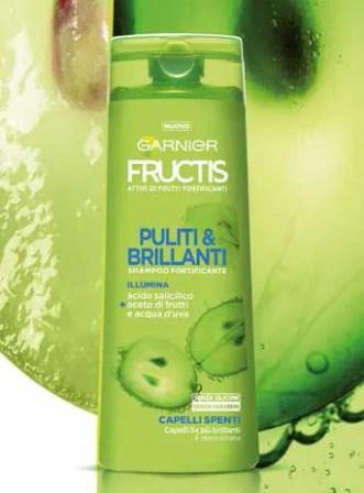 Shampoo Garnier Fructis Puliti&Brillanti