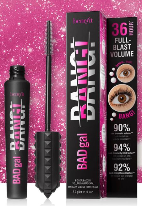 Benefit Badgal Bang Mascara pack