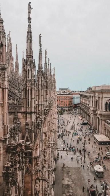 Vista dalle Terrazze del Duomo