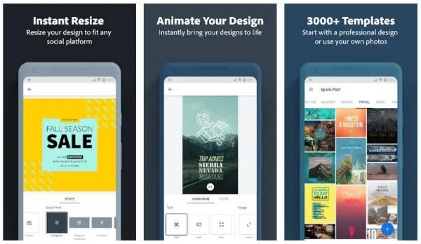 Adobe spark app store