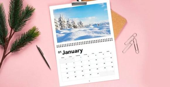 lalalab landscape calendar