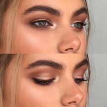 sunkissed eye makeup