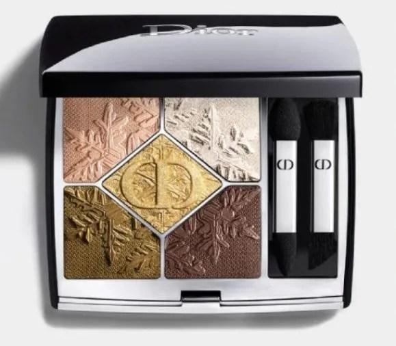 dior makeup natale 2020 golden snow palette