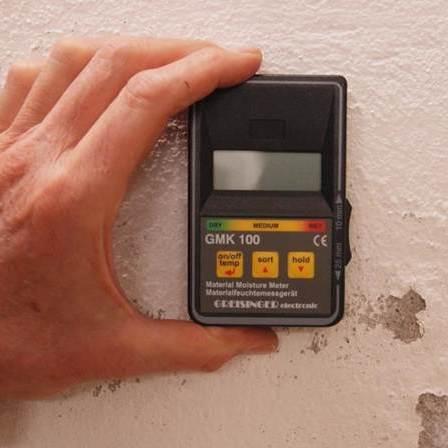 Mesure du taux d'humidité dans un mur (mesure capacitive)