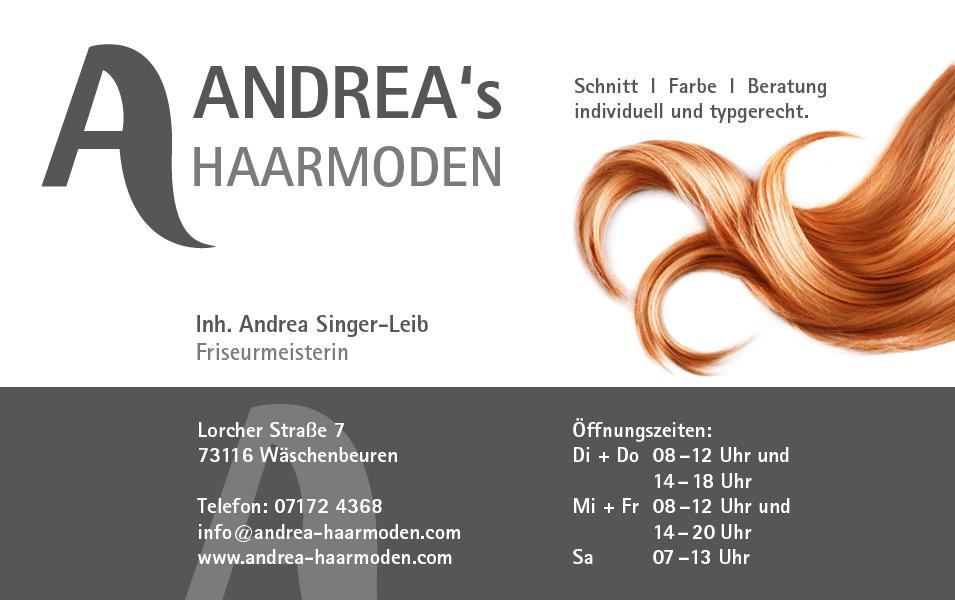 Andreas Haarmoden  Ihr Friseursalon in Wschenbeuren bei