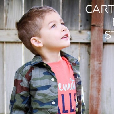 Fall In Love With Carter's Fall Style + Giveaway