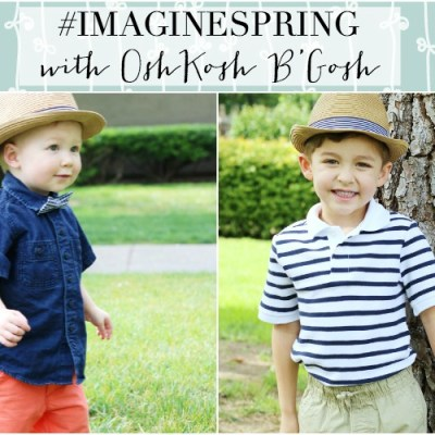 #ImagineSpring With OshKosh B'Gosh