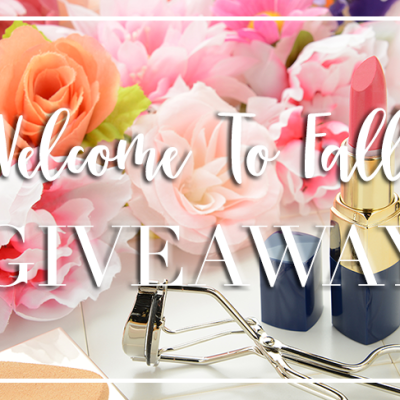 Welcome To Fall Giveaway
