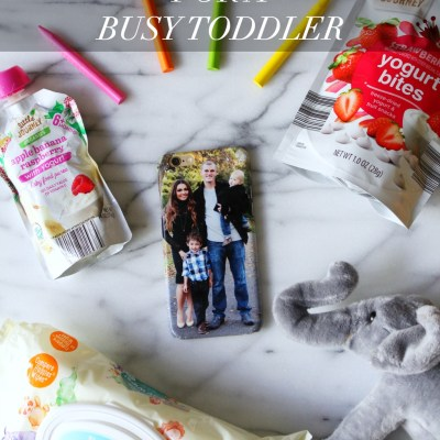 What to Pack In Your Bag For A Busy Toddler