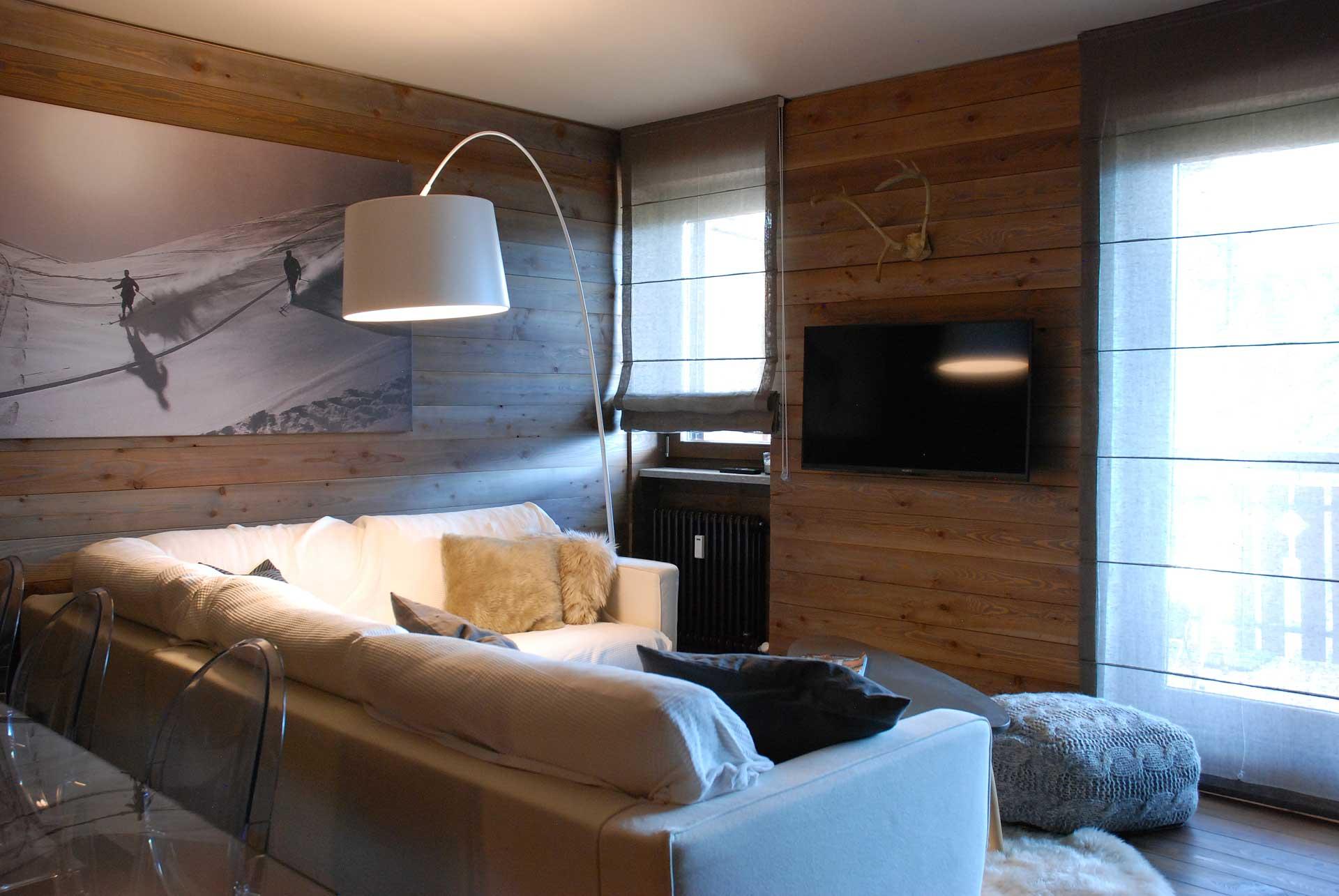 Bella casa in legno in montagna. Casa Di Montagna In Legno Architetto Andrea Bella
