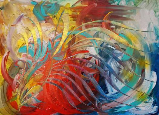 abstract art color  arte astratta