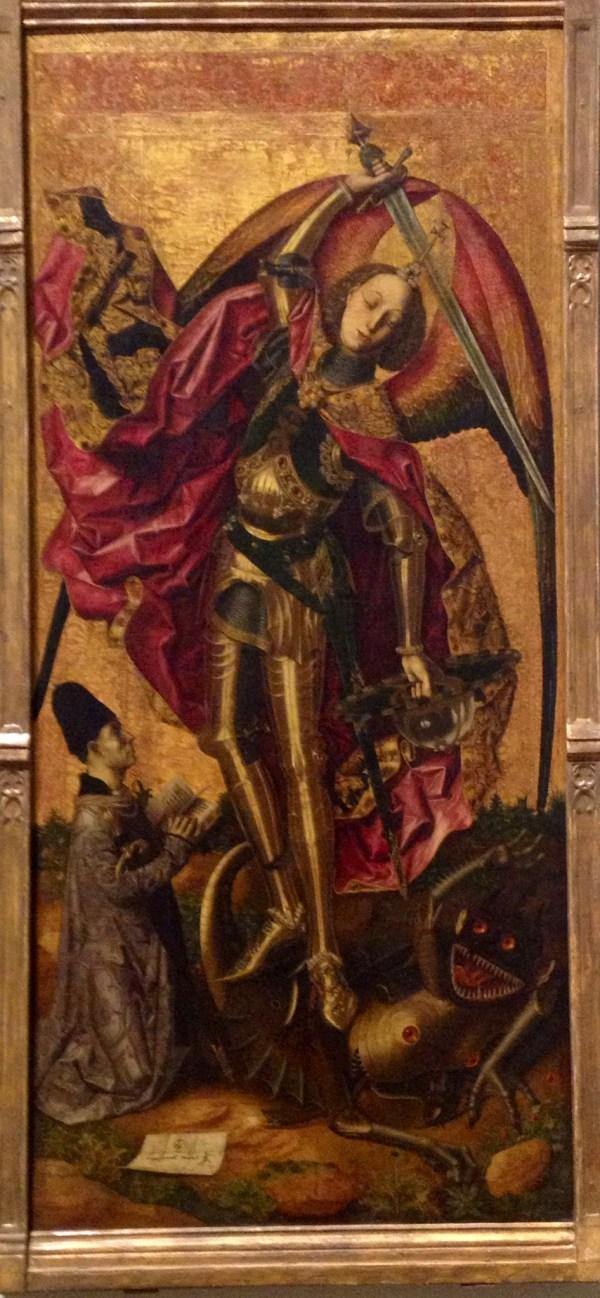 Devil Saint Michael Paintings