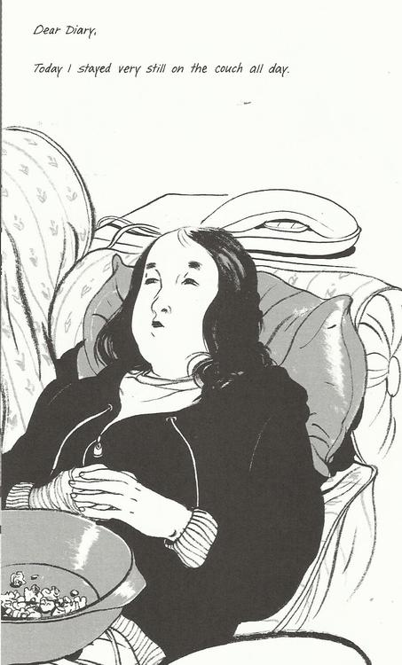 from Skim by Mariko Tamaki and Jillian Tamaki