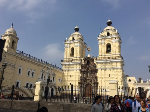 Basilica San Francisco, Lima, Peru.