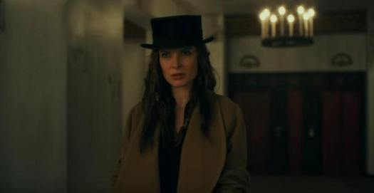 Rebecca Ferguson as Rose the Hat.