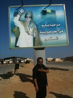 Dieudonné in Libia a sostegno di Gheddafi