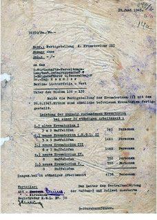 La lettera della Zentralbauleitung di Auschwitz del 28 giugno 1943: una interpretazione alternativa